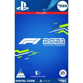 F1 2021 (PS4) - PSN Digital Code Voucher Only