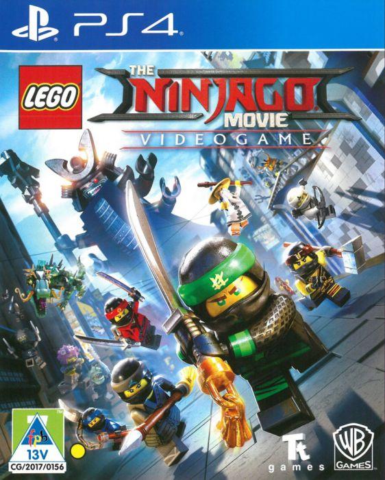 PS4 LEGO NINJAGO MOVIE VIDEOGAME