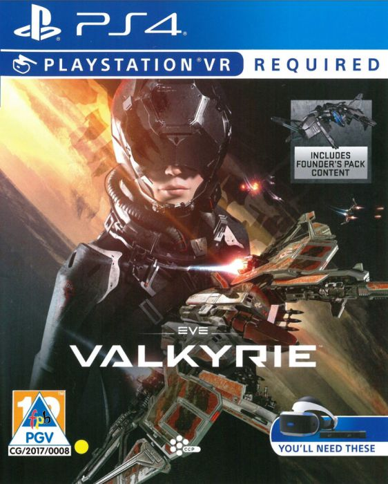 PS4 EVE VALKYRIE PSVR