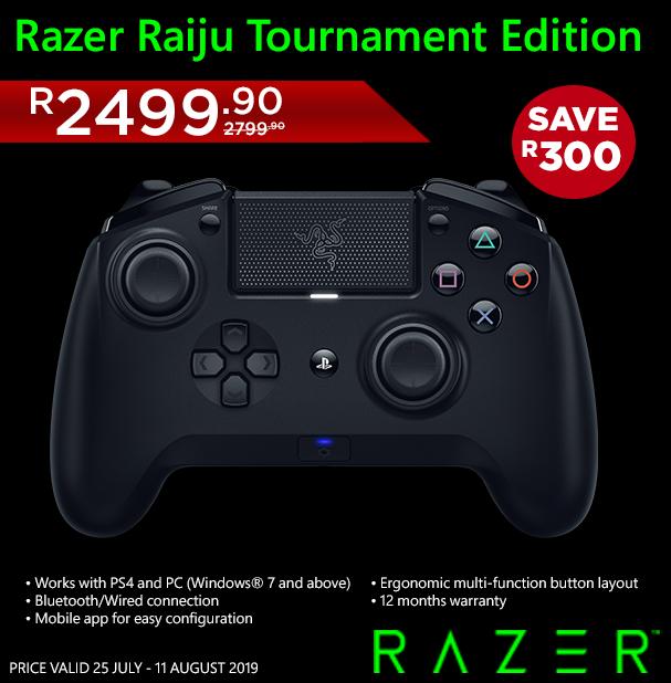 How To Connect Razer Raiju Tournament To Ps4